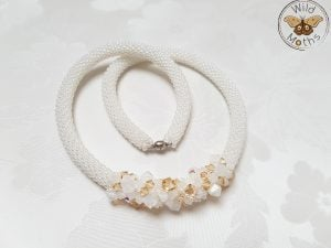 Swarovski Crochet Necklaces This Week We Feature: Wild Moths, Frau Tschi-Tschi and Lilia Craft Party