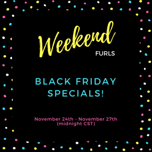 Sale Alert! Black Friday Weekend Specials
