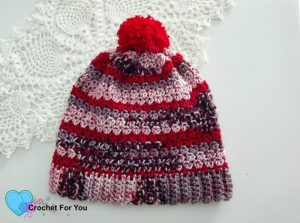 Featured at The Wednesday Link Party: Winter's Cerise Crochet Slouch Pattern by Crochet For You.