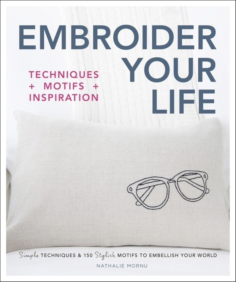 Embroider Your Life - DK Canada - Book Review - ODC