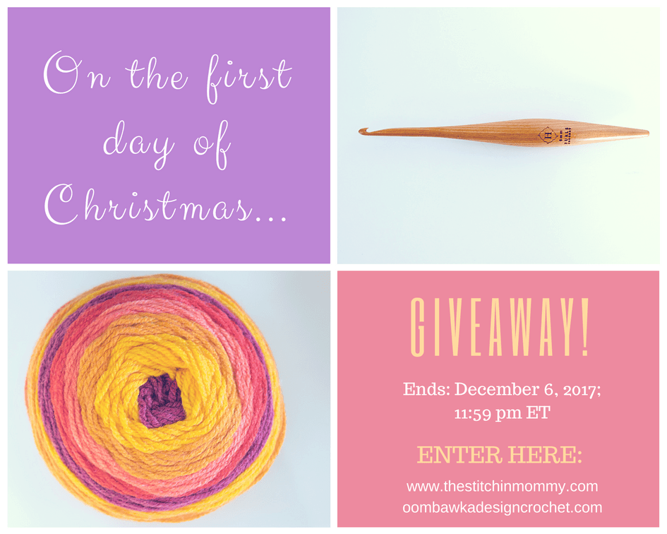 Twelve Days Of Christmas Giveaway with Amy and Rhondda - Day 1