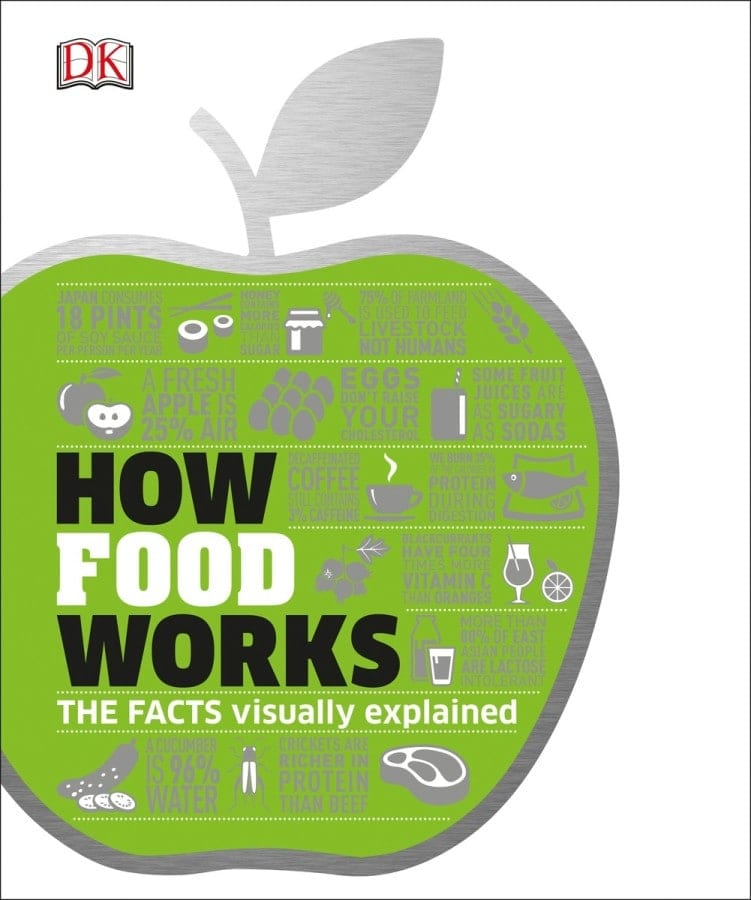 How Food Works - DK Canada - Book Review by Oombawka Design Crochet