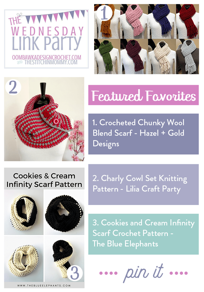 The Wednesday Link Party Featured Favorites: Hazel + Gold Designs, Lilia Craft Party and The Blue Elephants!