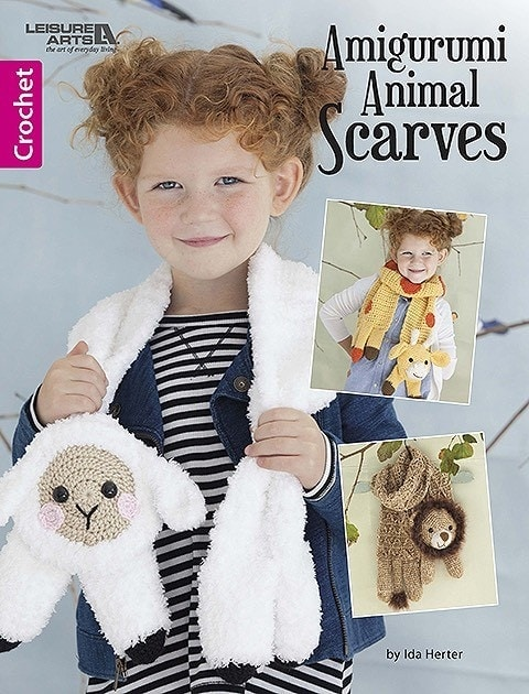 Amigurumi Animal Scarves includes 7 adorable scarves you can crochet for the children in your life! The patterns range in difficulty from easy to easy+. These will make great last minute gifts and are very practical for the winter season.