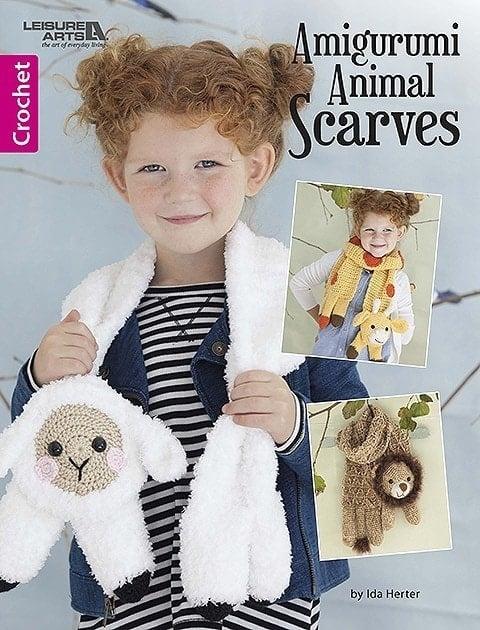 Amigurumi Animal Scarves - Leisure Arts - eBook Review by Oombawka Design