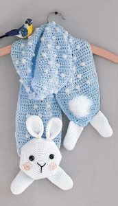 Molly The Bunny - Amigurumi Animal Scarves - Leisure Arts - eBook Review by Oombawka Design