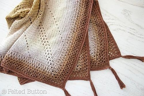9Caramel Whirl Blanketby Susan Carlson