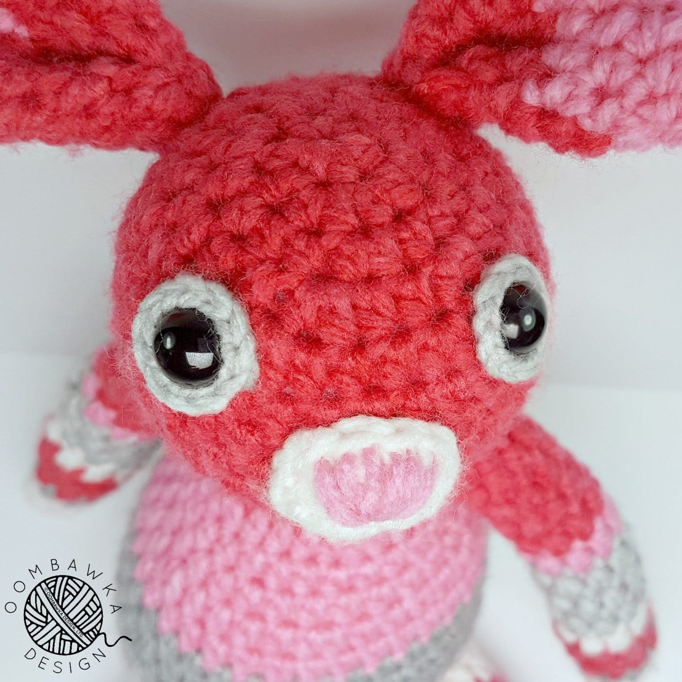 Bunny Face - ODC - Free Pattern Oombawka Design Crochet