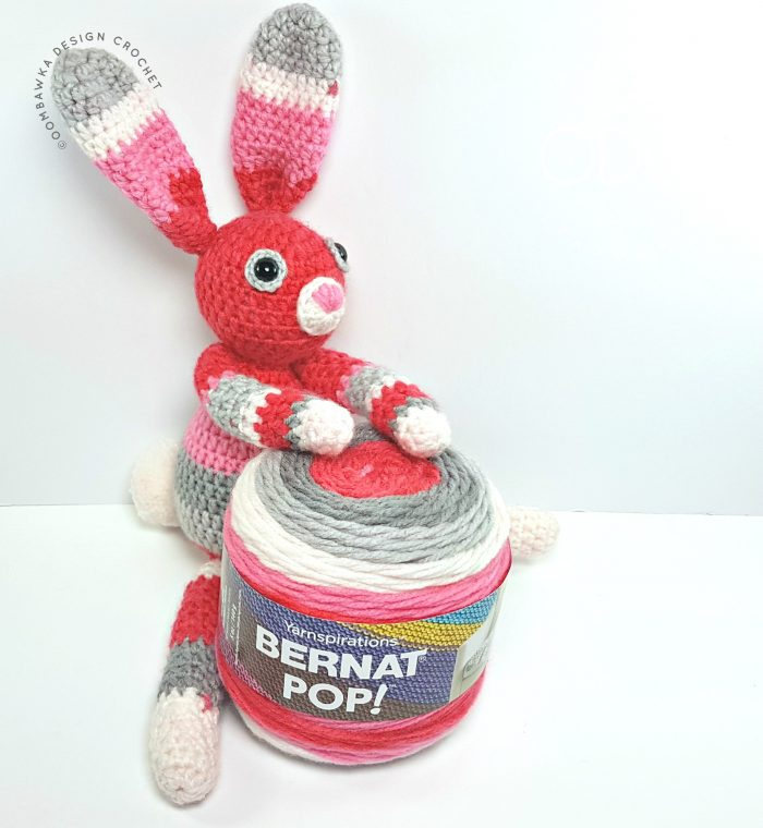 Bunny ODC Free Pattern 1 Ball Bernat Pop