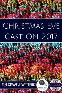 ChristmasEVECastOn2017 with Clare of bowilson123 and OombawkaDesignCrochet