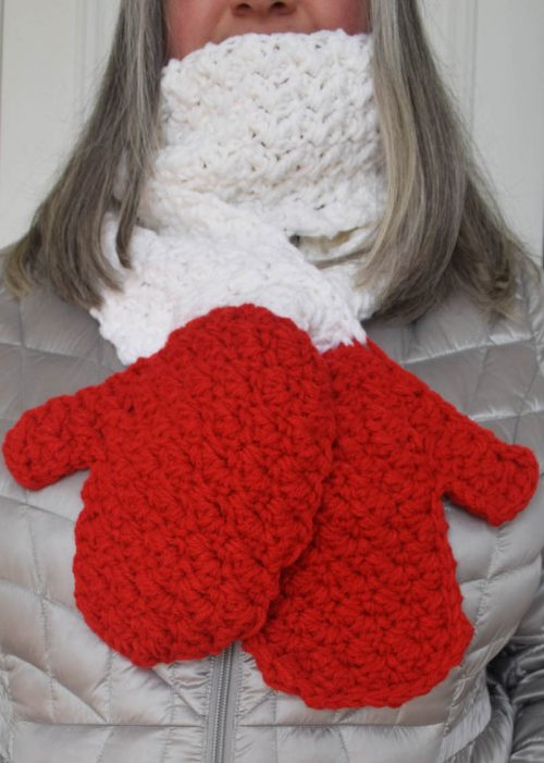 Handy Scarf free crochet pattern by Underground Crafter 2