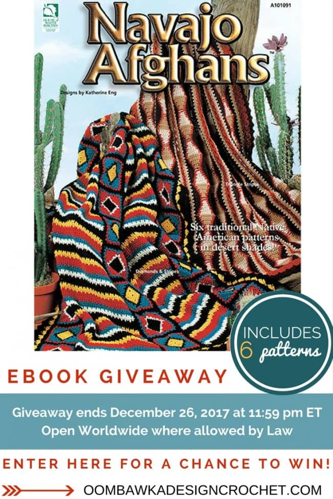 Navajo Afghans Katherine Eng Annies Craft Store - Review and Giveaway - Oombawka Design Crochet