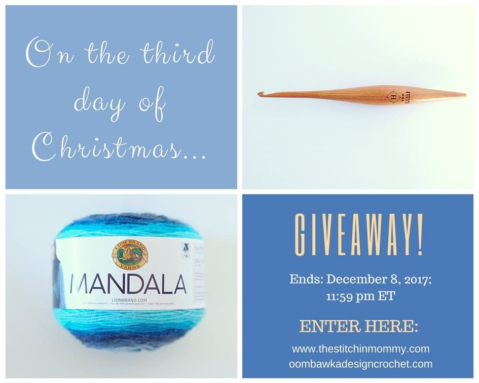 The Twelve Days of Christmas The Third Day of Christmas Giveaway with Amy and Rhondda