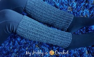 Featured at The Wednesday Link Party: Ribby Legwarmers free crochet pattern