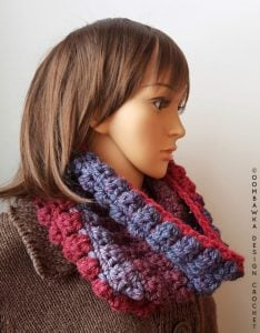 Short and Sweet Cowl Crochet Pattern