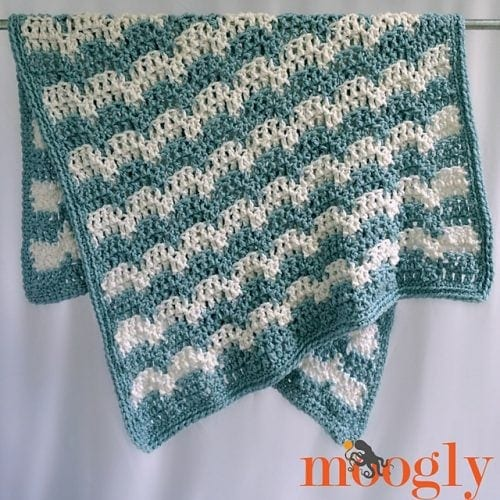 2 Snowdrifts Afghan by Tamara Kelly