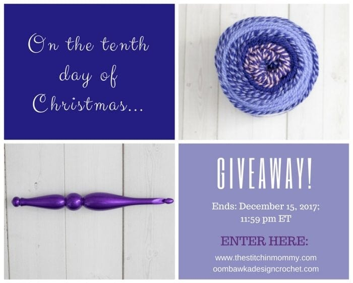 The Twelve Days of Christmas - The Tenth Day of Christmas Giveaway!