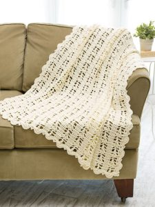 Ivory Lace Throw - Amazing Crochet Afghans - Annie's Craft Store - Reviewed by OombawkaDesignCrochet