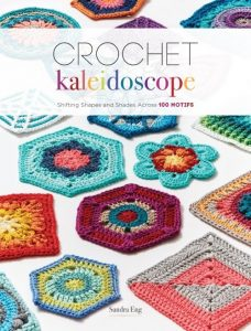 Front Cover Crochet Kaleidoscope by Sandra Eng