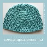 Seamless Double Crochet Bulky Hat