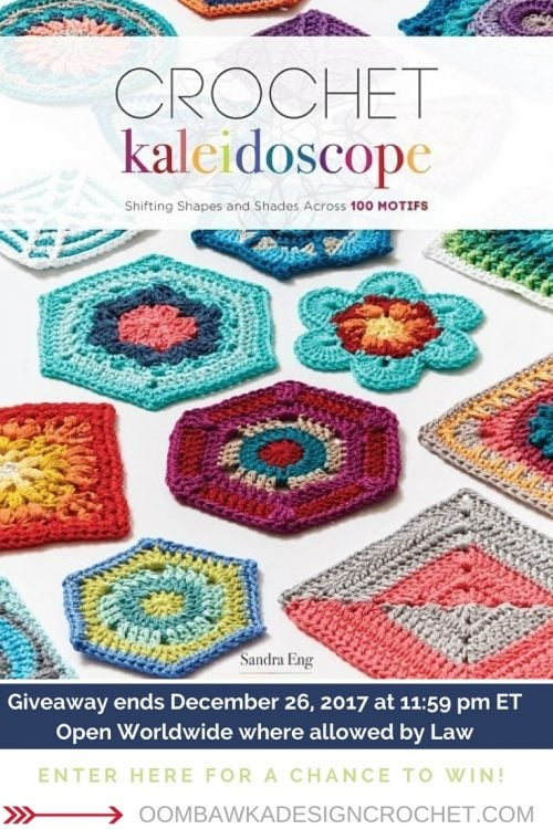 Crochet Kaleidoscope Giveaway Oombawka Design Crochet