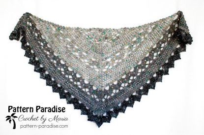 Spring Showers Shawl CAL with Maria at Pattern Paradise