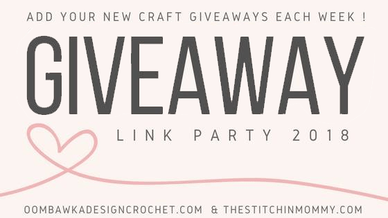 2018 Giveaway Link Party Header Buttons