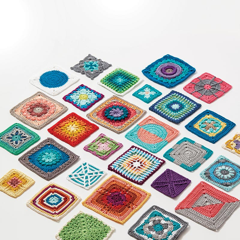 Squares - Crochet Kaleidoscope by Sandra Eng