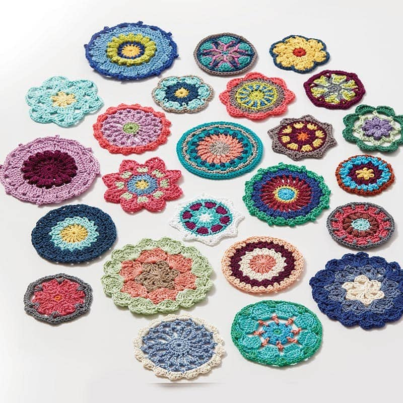Circles - Crochet Kaleidoscope by Sandra Eng