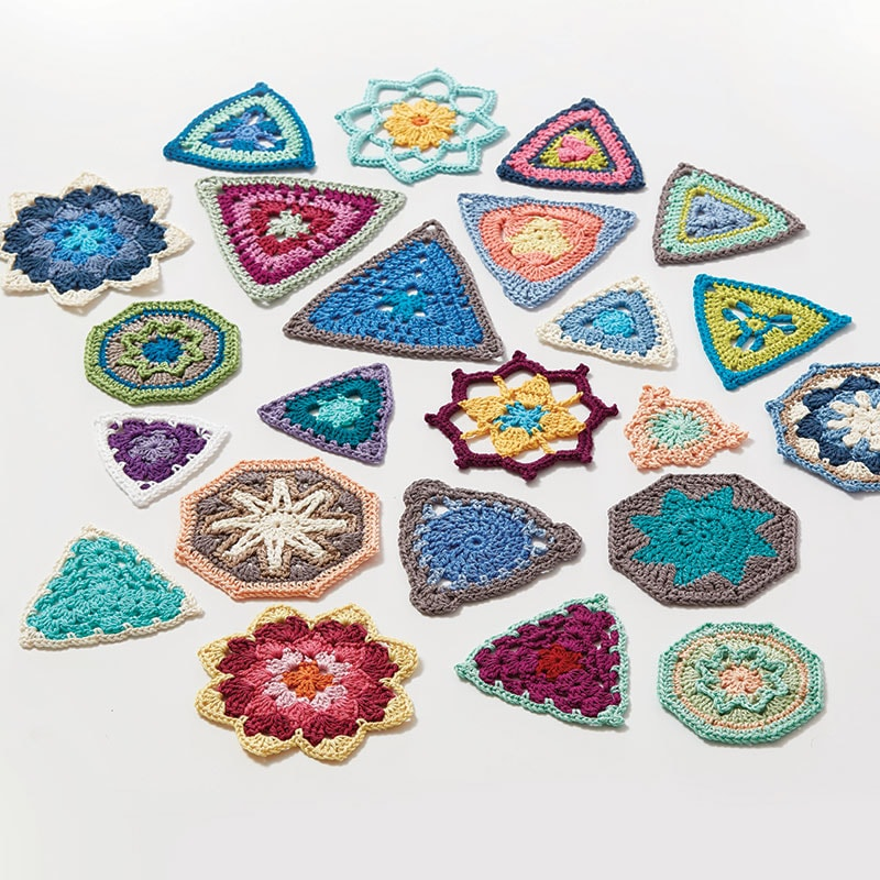 Triangles - Crochet Kaleidoscope by Sandra Eng