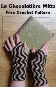 Featured on The Wednesday Link Party 226: La Chocolatière Mitts - Knitting and so on