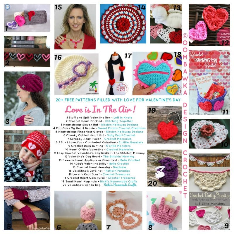 This week, at the Wednesday Link Party 228 we feature submissions from Amanda Saladin Knit and Crochet Designs, Underground Crafter and The Bearded Hiker! Get the free patterns and recipe links below!