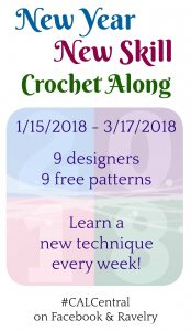 New Year New Skill Crochet Along 2018 - Oombawka Design Post 2