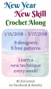 2018 New Year New Skill Crochet Along