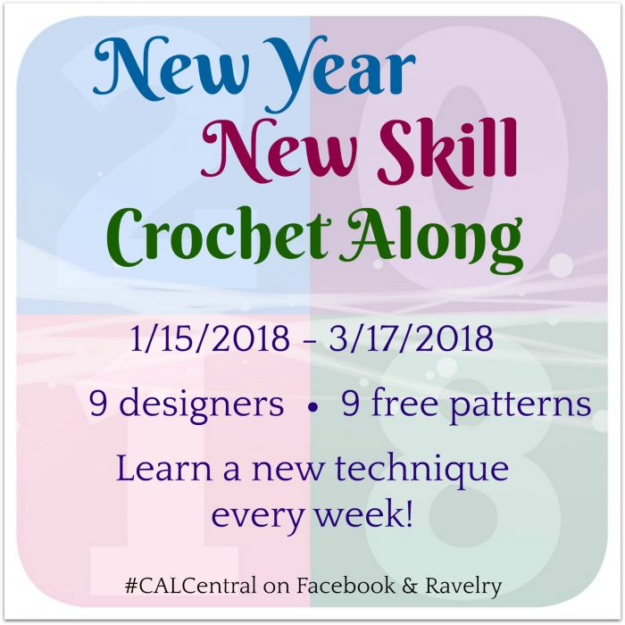 New Year New Skill Crochet Along with Oombawka Design