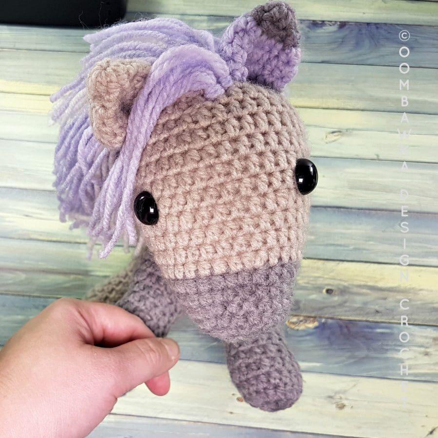 Pony Face Eyes and Ears - OombawkaDesignCrochet