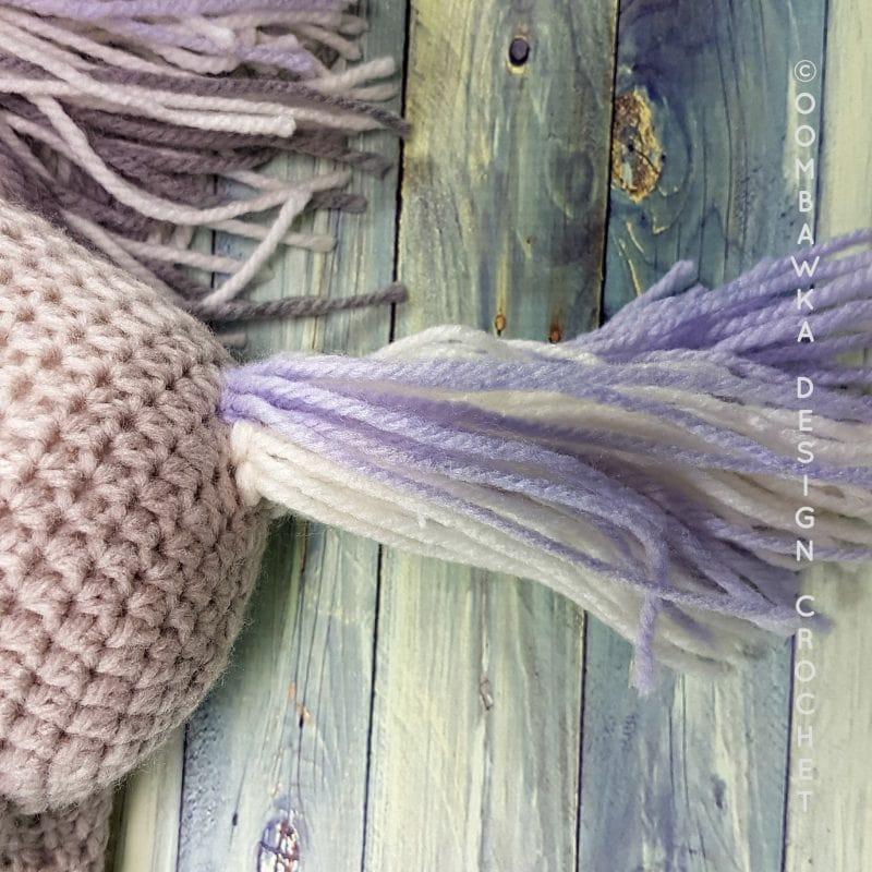 Pony Tail for Pony Oombawka Design Crochet