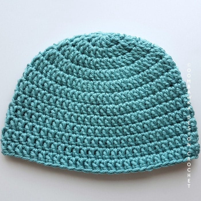 Seamless Double Crochet Bulky Hat