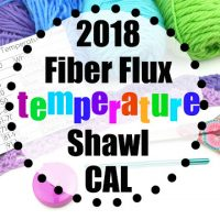 Temperature Shawl with Fiber Flux