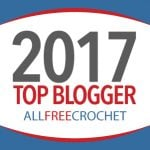 Oombawka Design is a 2017 Top Blogger for AllFreeCrochet
