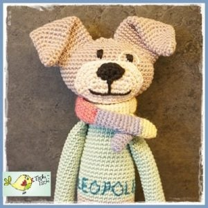 Featured at The Wednesday Link Party 229: 2 A Crocheted Amigurumi for Baby Leopold from Frau Tschi-Tschi