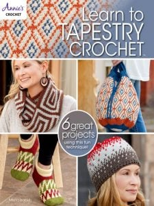 Learn to Tapestry Crochet - Annie's Craft Store - Review by Oombawka Design Crochet