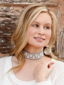 Tie-Up Choker - Learn to Tapestry Crochet - Annie's Craft Store - Review by Oombawka Design Crochet