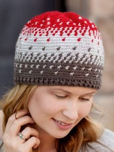 Blending Colors Hat - Learn to Tapestry Crochet - Annie's Craft Store - Review by Oombawka Design Crochet