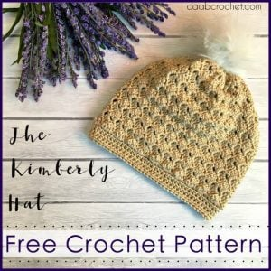 Wednesday Link Party Features: The Kimberly Hat - Cute as a Button Crochet