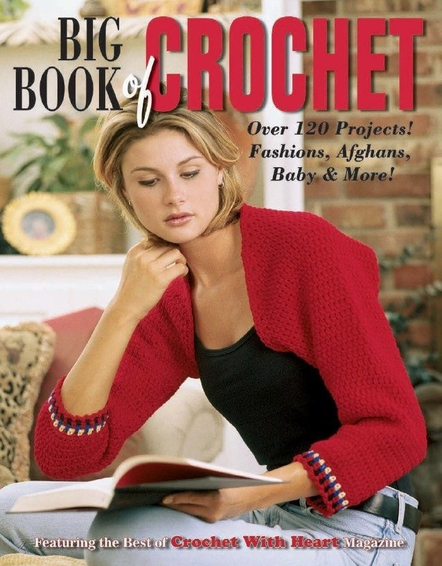 Cover Big Book of Crochet - Leisure Arts - Book Review oombawkadesigncrochet