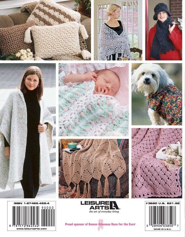 Back Cover - Big Book of Crochet - Leisure Arts - Book Review oombawkadesigncrochet