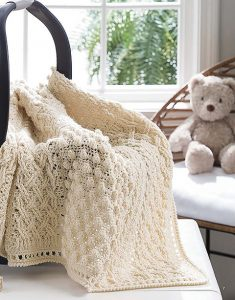 Heirloom - On The Go Baby Blankets - Leisure Arts - Book Review by Oombawka Design Crochet