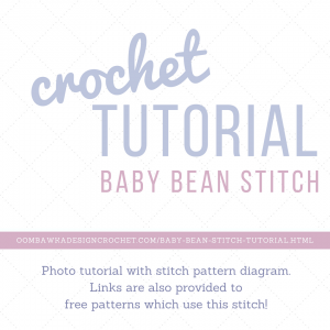 Baby Bean Stitch Tutorial Oombawka Design