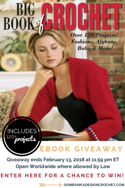 Big Book of Crochet Giveaway at Oombawka Design